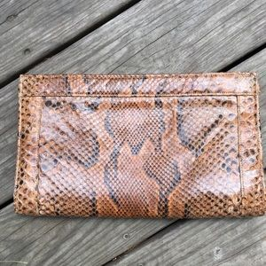 Vintage Snakeskin Clutch/Purse